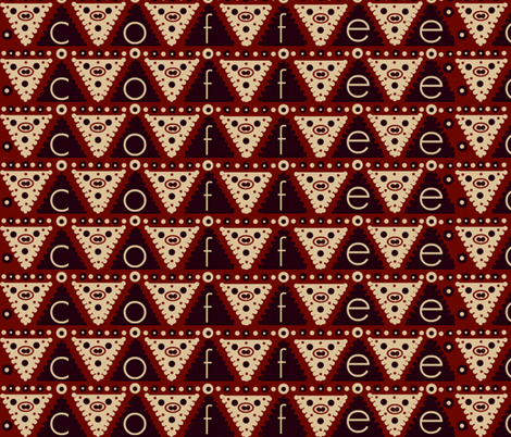 coffee #10 fabric by paragonstudios on Spoonflower - custom fabric
