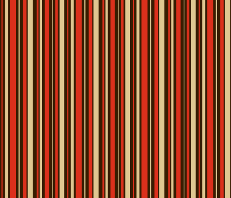 COFFEE_STRIPE__retro_ fabric by pavlovais on Spoonflower - custom fabric