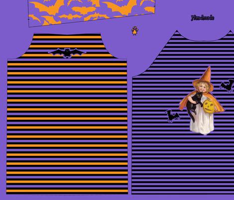 Halloween Pijama fabric by annadriel on Spoonflower - custom fabric