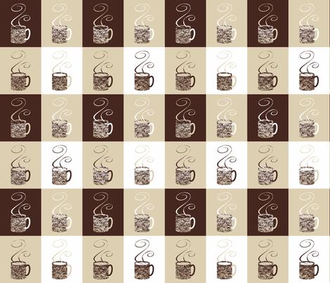 11_Coffee_Granny_Elf fabric by granny_elf on Spoonflower - custom fabric