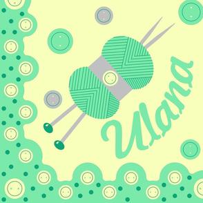 Ulana - Hawaiian Quilt (Cheater)