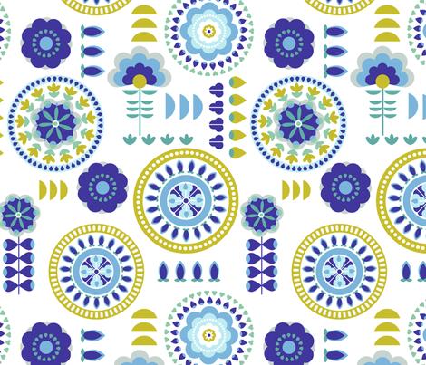 Medallions fabric by chulabird on Spoonflower - custom fabric