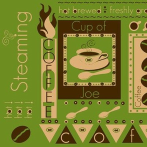a piping hot cup / organic