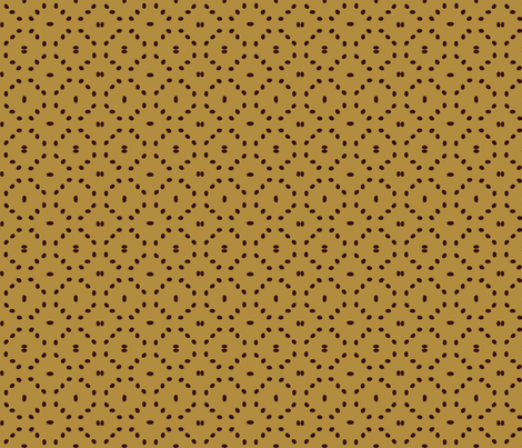 Coffee bean diamonds on cafe au lait fabric by victorialasher on Spoonflower - custom fabric