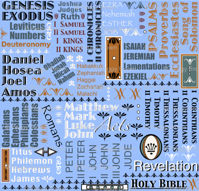Books of The Bible 121 177 255