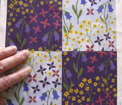 Lyrd Floral 13c sample swatch