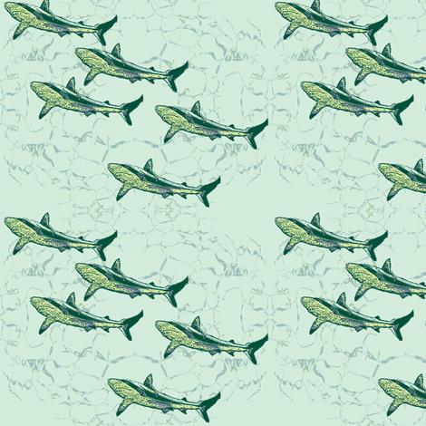 against_the_stream-ch fabric by wednesdaysgirl on Spoonflower - custom fabric