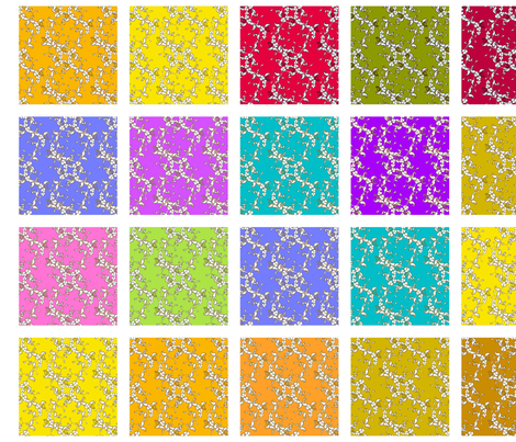 Paisley swatches fabric by joanmclemore on Spoonflower - custom fabric