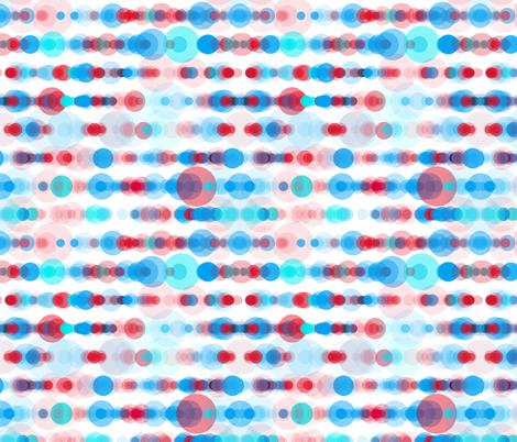 apple sky bubble rain fabric by sol on Spoonflower - custom fabric