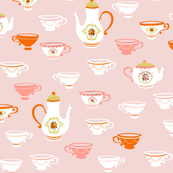 Tea Party Pink