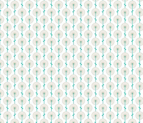 Grey Lehua, Small fabric by ravenous on Spoonflower - custom fabric