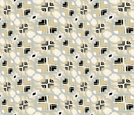 Seagull Abstract 3, L fabric by animotaxis on Spoonflower - custom fabric