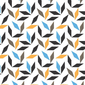 Parallelogram in blue