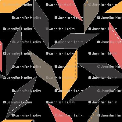Parallelogram in raspberry
