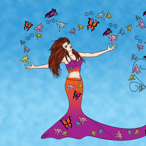 Butterfly Goddess, Printemps Papillon Ete