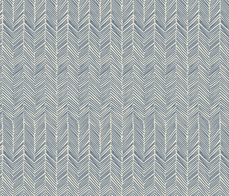freeform  arrows in navy fabric by domesticate on Spoonflower - custom fabric