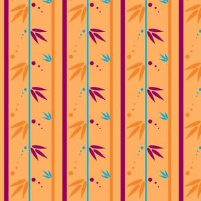 Fronds & Dots - Joyful Garden - © PinkSodaPop 4ComputerHeaven.com