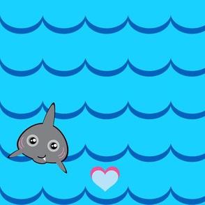 A Sharky You Can LOVE!  - © PinkSodaPop 4ComputerHeaven.com