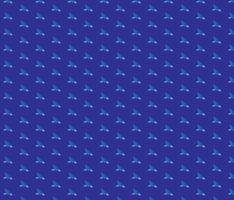 sharky fabric by jefflint2002 on Spoonflower - custom fabric