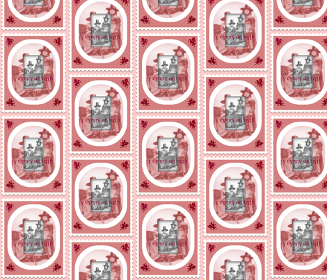 The Welsh forever fabric by the_cornish_crone on Spoonflower - custom fabric