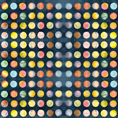 scarf_dots_bkgd_5405 fabric by pearginger on Spoonflower - custom fabric