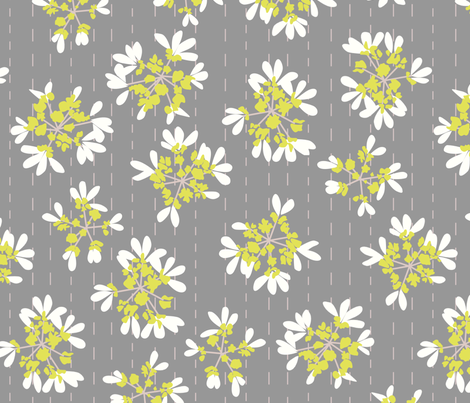 flowers3 fabric by lauredesigns on Spoonflower - custom fabric
