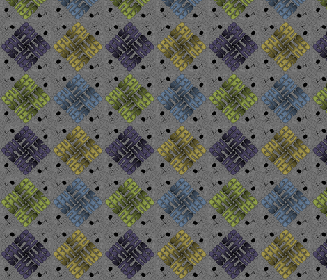 ©2011 monogram sfh 02 music fabric by glimmericks on Spoonflower - custom fabric
