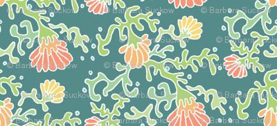 seaflowers green
