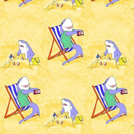 Rrrrrrsandcastle_sharks_fabric_shop_preview