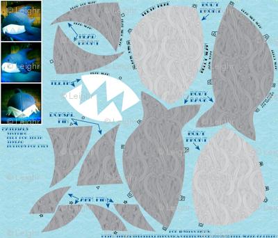 Chubby Shark (cut & sew)