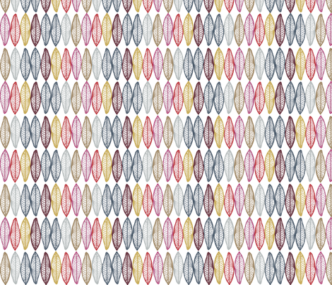 Nomad Feathers fabric by colie*leigh*designs on Spoonflower - custom fabric
