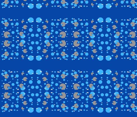 sharks fabric by lenjohnson on Spoonflower - custom fabric