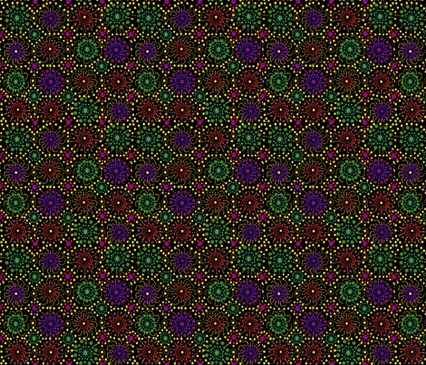 Fireworks fabric by createdgift on Spoonflower - custom fabric