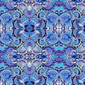 Fleur des petite Blueberry stains