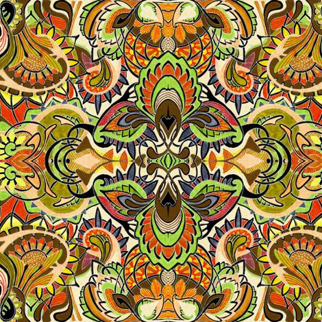 Autumn Colors fabric by edsel2084 on Spoonflower - custom fabric