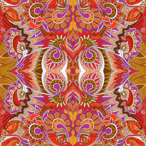 Sunburst Soul fabric by edsel2084 on Spoonflower - custom fabric