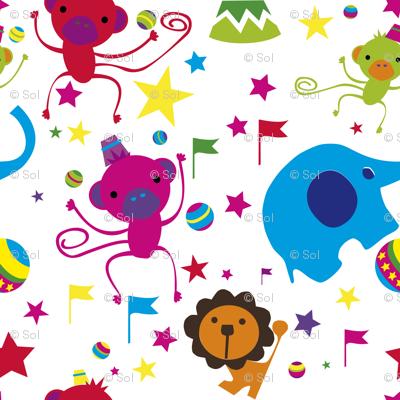 Juggling Monkeys tuttifrutti