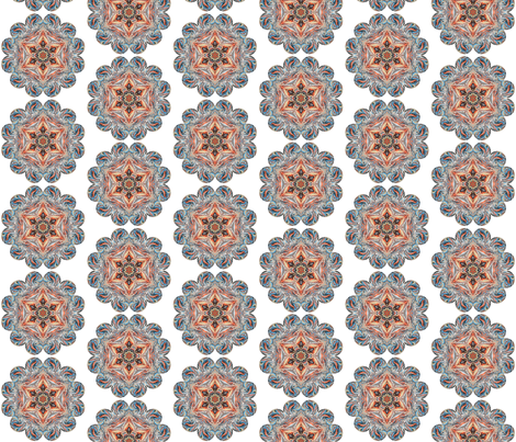 Sedona Kaleidoscope Dot fabric by beesocks on Spoonflower - custom fabric