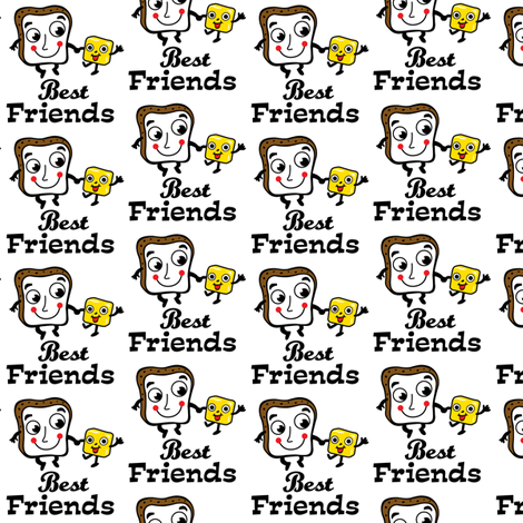 Bread and Butter fabric by andibird on Spoonflower - custom fabric