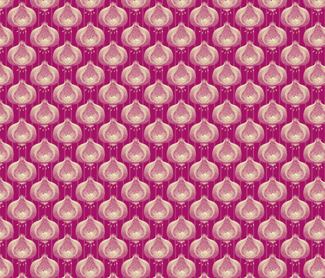 ©2011 pomegranate_delight in pom fabric by glimmericks on Spoonflower - custom fabric