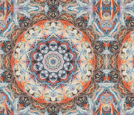 Sedona Marbled Solid fabric by beesocks on Spoonflower - custom fabric