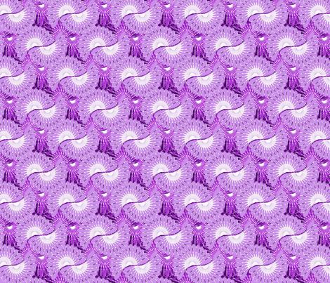 Blender Phlox Purple fabric by joanmclemore on Spoonflower - custom fabric
