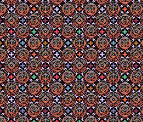 ©2011 the rose window fabric by glimmericks on Spoonflower - custom fabric