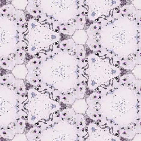 Sad clown fabric by flaminia on Spoonflower - custom fabric