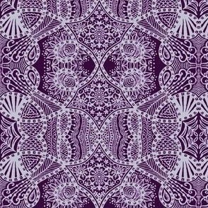 2010_zentangle_ATC_white_on_purple
