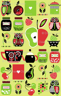 Owls_in_the_kitchen_green