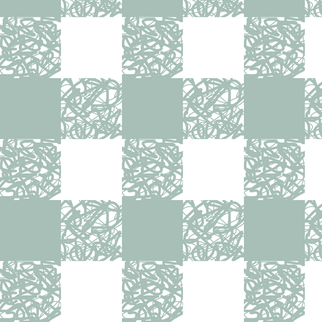 White Plaid fabric by pond_ripple on Spoonflower - custom fabric