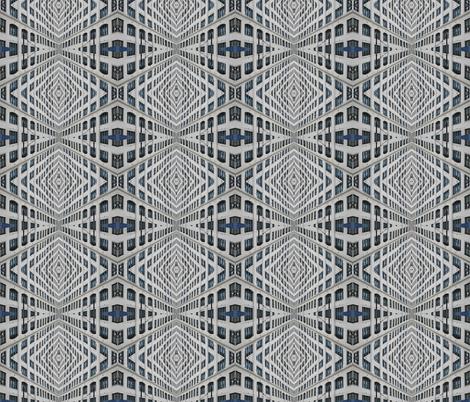 Urban Windows fabric by relative_of_otis on Spoonflower - custom fabric