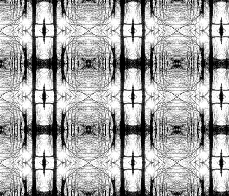 Winter Trees Webs fabric by relative_of_otis on Spoonflower - custom fabric