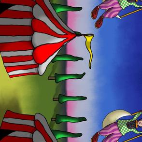 Acrobat Dreams (edge pattern)